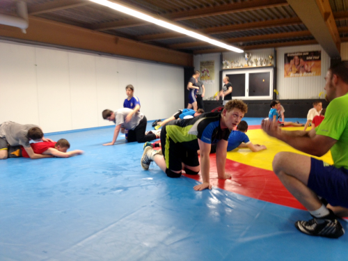Kadertraining 7.4.2014 in Einsiedeln